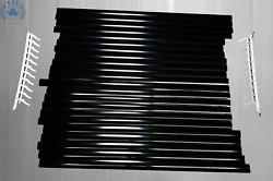 Rear Blind For Mercedes Benz W123 Saloon Black New