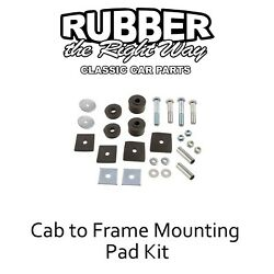 1957 1958 1959 1960 Ford F100 Truck Cab To Frame Mounting Kit