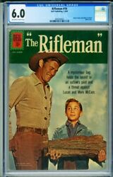 Rifleman 10 Cgc 6.0 Famous Innuendo Wood Cover-3694184007