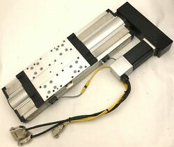 Parker 406200xr Precision Linear Actuator Positioner Stage 200mm Travel W/motor
