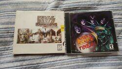 Kiss Pc Video Game Lot Psycho Circus The Nightmare Child And Pinball