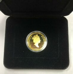 1994 200 Canadian Anne Of Green Gables Gold Proof Box/coa