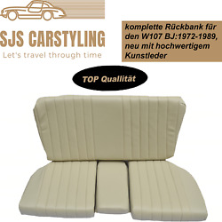Back Seat Emergency Seats Child's Seat For Mercedes Sl R/w107, Parchment