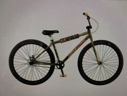Rare🔥 Gt Performer 29 Heritage Bmx Camo Olive Army Green Bicycle 2021 Pro New
