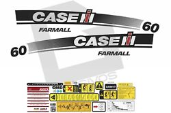 Case Ih Farmall 60 Tractor Decals / Stickers Compatible Complete Set / Kit