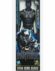 BLACK PANTHER Marvel Avengers Titan Hero Series 12 Inch Hasbro Action Figure New