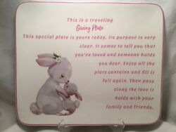 G I V I N G. P L A T E. New 12andrdquo X10andrdquo Food Safe Giving Plate