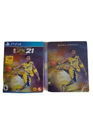 Exclusive Nba 2k21 Mamba Forever Edition + Steelbook Playstation 4 New Ps4