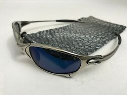 Oakley Juliet Ice Iridium Polished Sunglasses Excellent Non Serial Penny Romeo $415.00