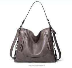 Purses for Women GZCZ Hobo Handbags Leather Shoulder Bags Large Capacity $39.99