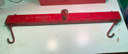 Antique Wooden Balance Farm Scale Barn Mccormick Tractor Butcher Scale Hard Find