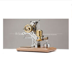 Mini Mobile Engine Model Diy Assembled Steam All Metal Toy