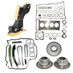 Camshaft Gears And Timing Chain Kit And Cylinder Head Gasket Set For Mercedes W204