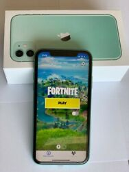Apple Iphone 11 With Fortnite Original Box And Unlocked 128gb Excellent Cond.