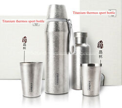 Titanium Thermos Sports Bottle Vacuum Cup Coffee Cup Tumbler Kettle