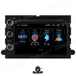 7 Android 10.0 Car Radio Navigation Stereo Gps Bt For Ford F150 2005-2008+cam
