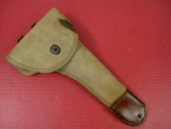 Wwi Us Army Aef M1917 Flare Pistol Canvas Holster - Remington Mkiii Flare Gun 2