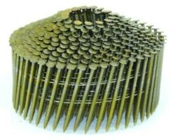 Spotnails Cwc4d083rg 1-1/2x.083 Ring Galv. Cone Coil Nails 14m