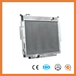Fit Ford F Series Pickup 83-94 F250 F350 Diesel Aluminum Radiator 3 Rows 1165