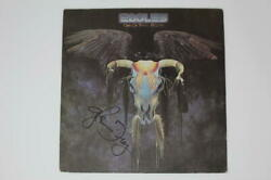 Glenn Frey Signed Autograph Album Record - The Eagles One Of These Nights Real