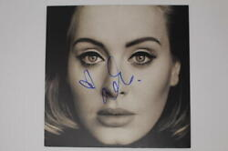 Adele Signed Autograph Album Vinyl Record 19 21 25 Someone Like You, Hello Real