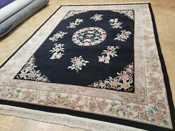 9x12 Brand New Chinese Rug Aubusson Peking Authentic 100 Wool Oriental Fine
