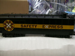 Brand New Mth O Scale Premier Auxiliary Chessie Die-cast Water Tender Ii 20-3686
