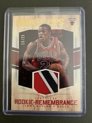 🔥2011-2012 Nba Hoops Jimmy Butler Rookie Remembrance Tri-color Patch 18/25