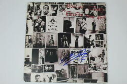 Keith Richards Signed Autograph Album Record Rolling Stones Exile On Main St Bas