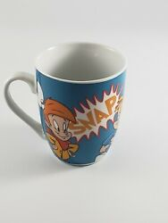 Kelloggs Rice Krispies Snap Crackle Pop Coffee Mug Cup 12 Ounce 2013 Cereal Blue
