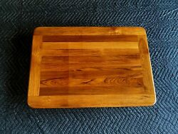 21by 30 Genuine Burmese Teak Yacht/boat/rv Table Natural/oiled Finish