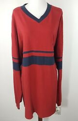 North West Blue Mens L/s Athletic Dept Shirt Xl Fits A Like Size 3xl New Red