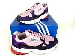 Adidas Running/gym Shoes Original Falcon Womenand039s Athletic Pink Purple Bd7825