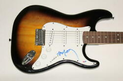 Willie Nelson Signed Autograph Fender Electric Guitar - Country Music Icon Psa