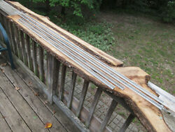 4 N Scale Gauge Track On Wood W/ Pebble Finish For Layout Or Display 66 50 46