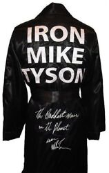Iron Mike Tyson Autographed Signed Boxing Robe Asi Proof
