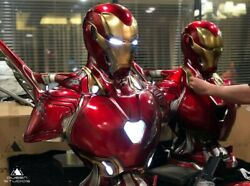 Queen Studios Iron Man Mk50 1/1 Life Size Statue Led Lighting Resin Collectiable