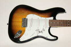 Steve Vai Signed Autograph Fender Brand Electric Guitar - Passion And Warfare