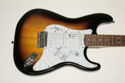 Moe Full Band X5 Signed Autograph Fender Brand Electric Guitar - The Conch