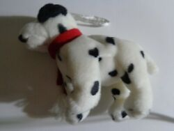 Dalmatian Dog Jingle Bell Wearing A Red Scarf Ornament Adorable Nwot