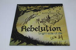 Rebelution Band X3 Signed Autograph Album Vinyl Record Bright Side Of Life