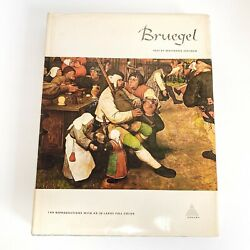 Bruegel By Wolfgang Stechow 1968, Hardcover 144 Reproductions - Large Colored