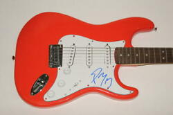 Post Malone Signed Autograph Fender Brand Electric Guitar - Hollywoodand039s Bleeding
