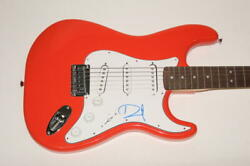 Dave Grohl Signed Autograph Fender Brand Electric Guitar Nirvana, Foo Fighters B