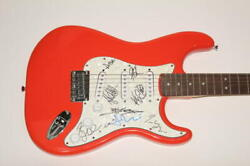 Soja Full Band X8 Signed Autograph Fender Brand Electric Guitar - Get Wiser