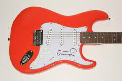 Noel Gallagher Signed Autograph Fender Brand Electric Guitar Oasis Morning Glory