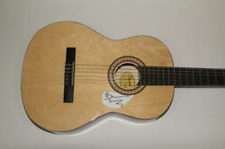 Bruce Dickinson Signed Autograph Fender Brand Acoustic Guitar - Iron Maiden