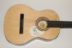 Bruce Dickinson Signed Autograph Fender Brand Acoustic Guitar - Iron Maiden B