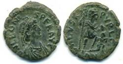 Very Rare Ae2 Of Leo 457-474 Ad Best Known