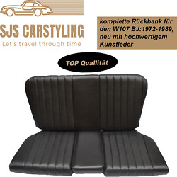 Back Seat Emergency Seats Child's Seat For Mercedes Sl R/w107, Black Top Quality